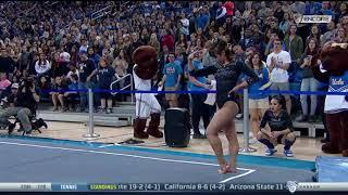 Katelyn Ohashi 2018 Floor vs OSU 10.000