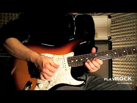 PlayRock - Jimi Hendrix - Hey Joe - Solo - Performance & Slow Version