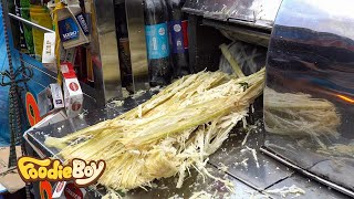 Sugar Cane Juice / Vietnamese Street Food / Ba Chieu Market, Ho Chi Minh Vietnam