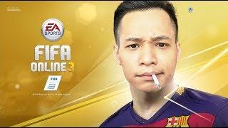 Lần đầu chơi game bóng đá FIFA ONLINE 3 - Phá đảo thế giới ảo
