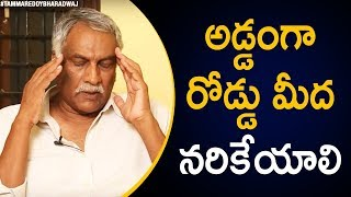 Tammareddy about Crime against women in Telangana..