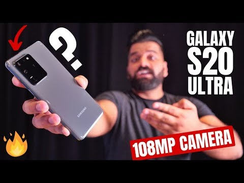 Samsung Galaxy S20 Ultra First Look - The KING of Smartphones!!!
