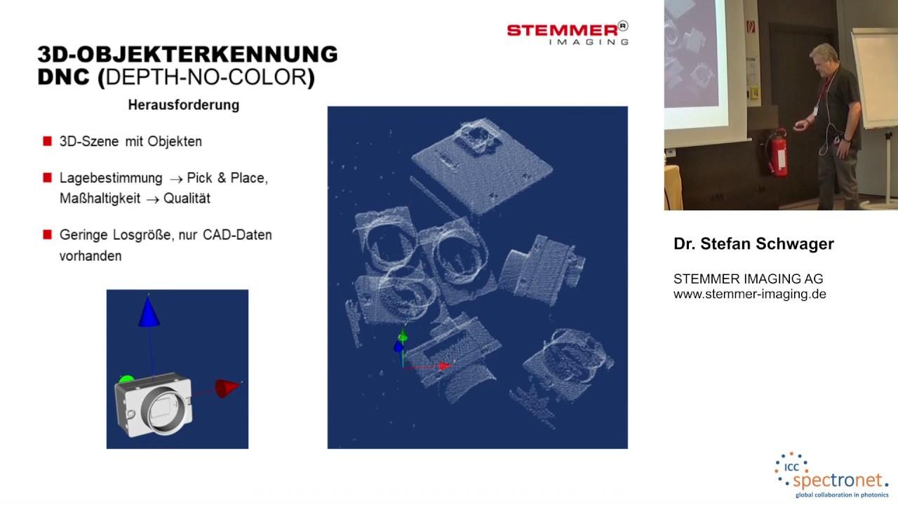 CAD-basierte 3D-Objekterkennung - Technologieforum Bildverarbeitung 2019