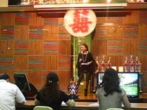 2013.07.27鹽水武廟建廟345年紀念歌唱初賽 鄭暘姿-冷冷的棉被