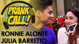 Prank Call: Ronnie Alonte at Julia Barretto, 'di nagpahuli sa prank call ng MOR 101.9!