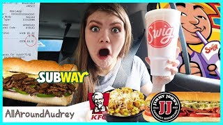 Letting The Person In Front Of Me Decide What I Eat For 24 Hours AGAiN! / AllAroundAudrey