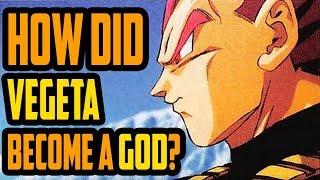 How Did Vegeta Become A Super Saiyan God?