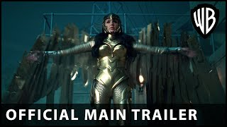 Wonder Woman 1984 - Official Main Trailer - Warner Bros. UK