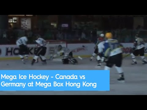 Mega Ice Hockey - Canada vs Germany at Mega Box Hong Kong