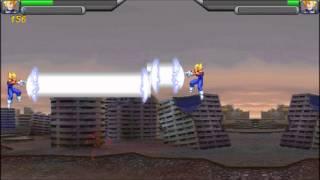 Java Dragonball Z Fighting Game