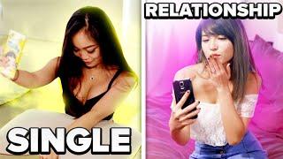 SINGLE VS RELATIONSHIPS