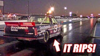 Taking Our NASCAR Drag Racing Round #2... Shakedown Testing Was RIPPIN!
