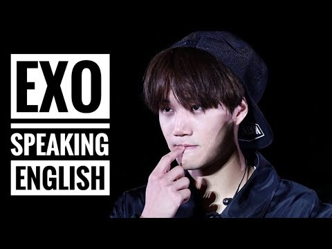 EXO Speaking English Compilation [Try Not To Laugh Challenge]
