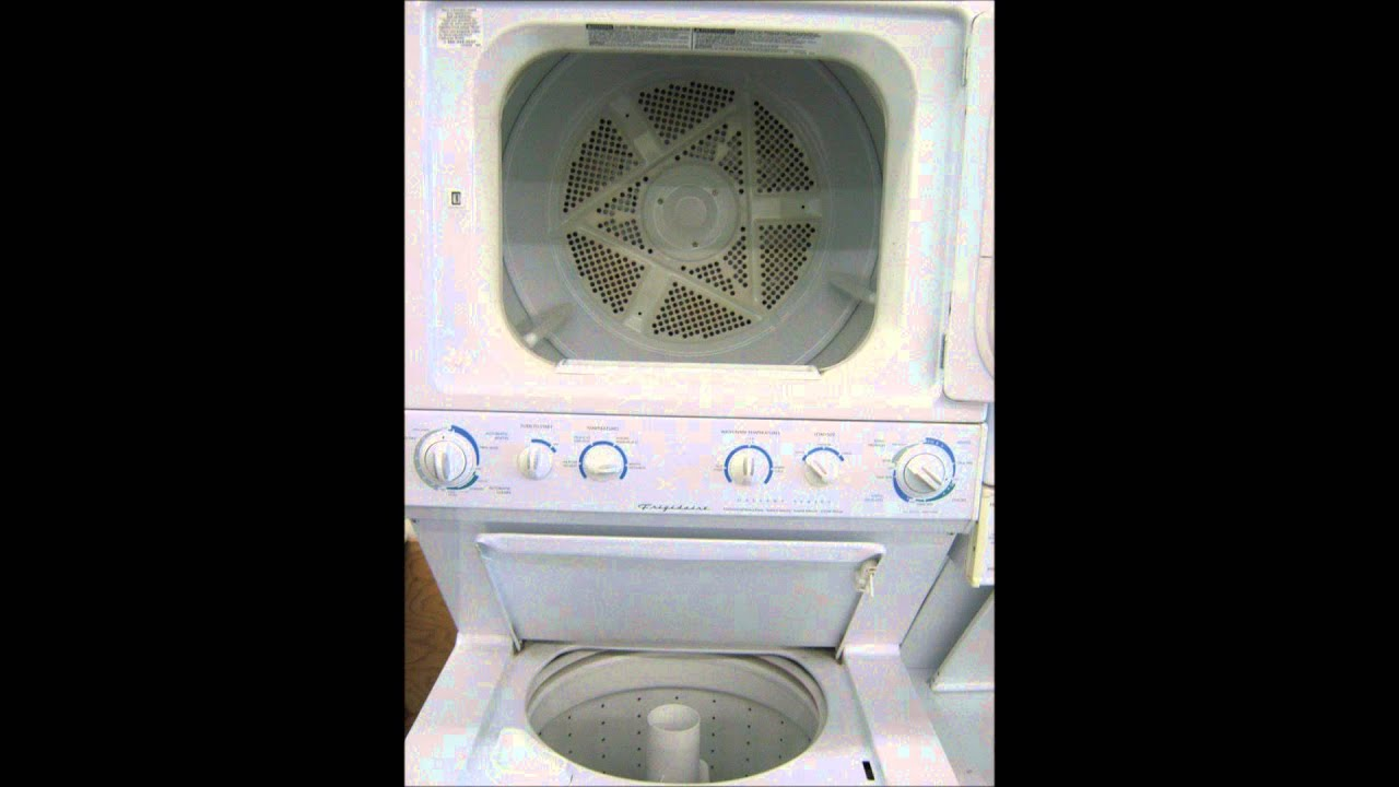 Frigidaire Stackable Washer Dryer User Manual Free