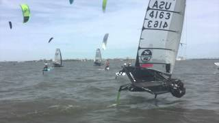 moth vs. kite course racing