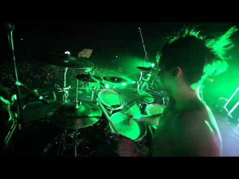 Пилот -Ершалаим ((drum cam)Live 01/02/2014) Drummer Nikita Belozerov