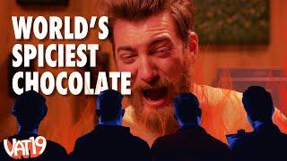World's Hottest Chocolate Bar Challenge: Vat19 Reacts