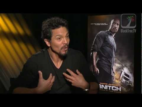 Benjamin Bratt talks about the word Snitch and his role in the movie ...