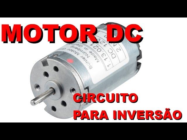 INVERSÃO DE DIREÇÃO PARA MOTOR COM CHAVE | Conheça Eletrônica! #006