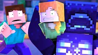 WARDEN FIGHT - Alex and Steve (Minecraft Animation)