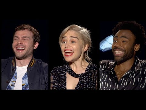 SOLO: A STAR WARS STORY Interviews: Ehrenreich, Glover, Clarke, Harrelson, Bettany, Howard and more!