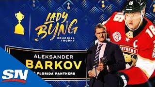 Panthers' Aleksander Barkov Wins Lady Byng Memorial Trophy