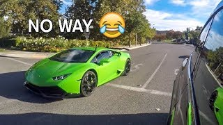 Tesla Owner Thought His Car Was FASTER LOL!