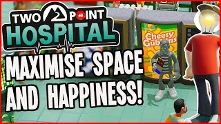 Two Point Hospital Gameplay - How To Maximise Happiness!! (New Theme Hospital)