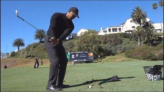 タイガー・ウッズのSW練習法 Tiger Woods Practice around the green ~Full Version~【Genesis Open】2/11/2019