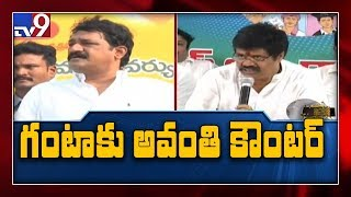 Avanthi Srinivas strong counter to Ganta Srinivasa Rao..