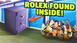 OMG a Rolex! Abandoned storage find! If it's locked 🔒 it's a safe! #HustleGrindRewind