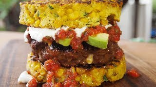 Stuffed Chorizo Burger Recipe | Mexican Inspired Burger!