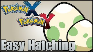 Pokemon X & Y - Easy Egg Hatching [Use Paper]
