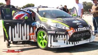 Ken Block tears up Gymkhana Grid with Ford Fiesta