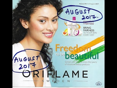 Oriflame August catalog 2017 Best Offers Independence Month Sale