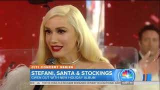 Gwen Stefani Interview on TODAY Show, November 20, 2017