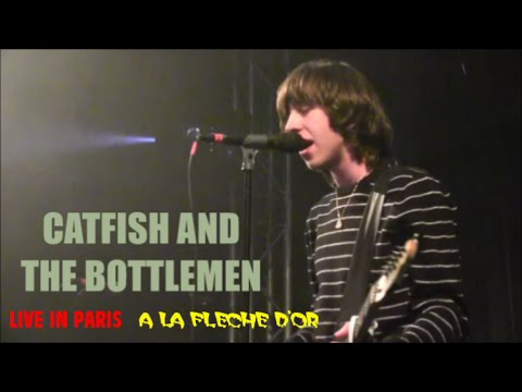 CATFISH AND THE BOTTLEMEN LIVE IN PARIS A LA FLECHE D'OR PARIS LE 28 NOVEMBRE 2014  n° 1