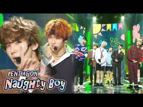 [HOT] PENTAGON - Naughty boy,  펜타곤 -  청개구리 Show Music core 20180929