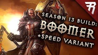 Diablo 3 Best Crusader Build: Speed and GR 124+ Akkhan Condemn (2.6.1 Season 13 Guide)