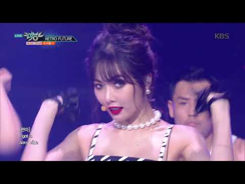 뮤직뱅크 Music Bank - RETRO FUTURE - 트리플 H(Triple H).20180727
