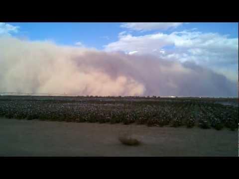 Dust Storm 10/17/2011