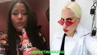 #NickiMinajIsOverParty! Nicki Minaj fight vs Lady Gaga starts here! #WeLoveYouNicki