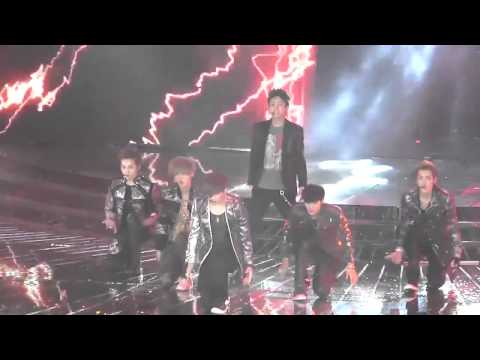 [FANCAM]120917 EXO - MAMA & HISTORY At The 5th Mengniu Music Billboard Award