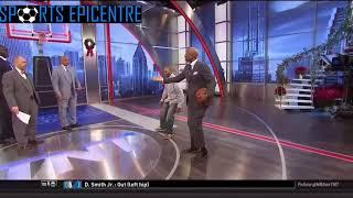 Charles Barkley Hits Shaq Than Runs Like A Bi***! - Inside The NBA