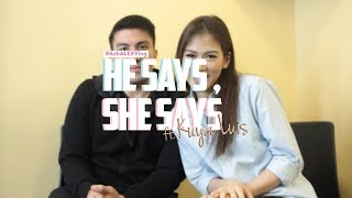 IS CLOSURE IMPORTANT? WHY DO MEN CHEAT?.. He Says, She Says ft Kuya Luis