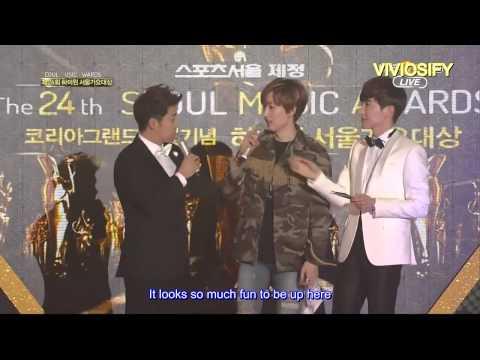 [ENG SUBS] 150122 Seoul Music Award - Eunhyuk cut