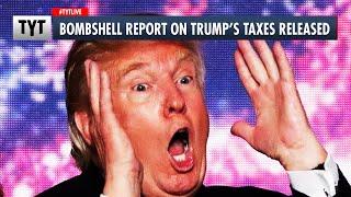Trump's Taxes Revealed: He's Broke!