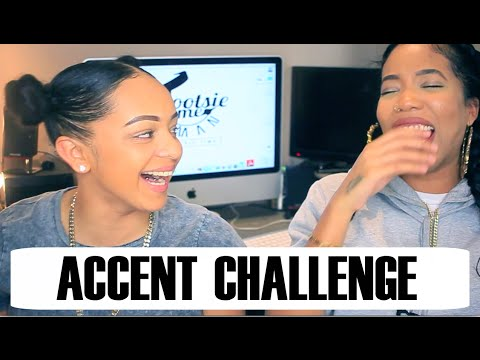 Accent Challenge Ft @Paigey_Cakey