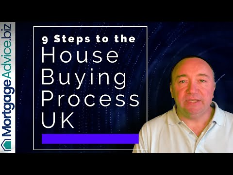 9 Steps to the House Buying Process - House Buying Timeline UK