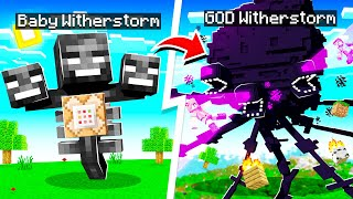 Upgrading WITHER STORM to WITHER GOD in MINECRAFT!
